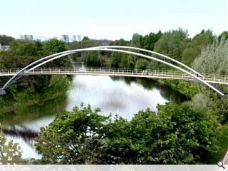 Clyde footbridge submitted for planning