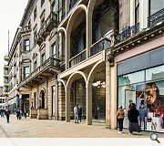 Direct pedestrian access will be offered between Princes Street and Rose Street
