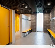 Associated facilities such as changing rooms and conveniences will also be provided