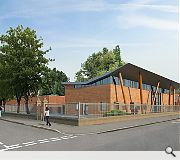 The new pavilion is scheduled to open in the spring of 2013