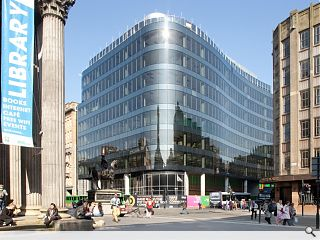 143,000sq/ft Glasgow office block handed over