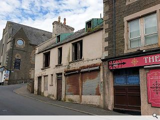 Derelict Wick duo due for demolition in town centre regeneration drive