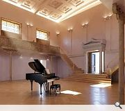 Both private and public performance spaces will be created within the former Assembly Rooms