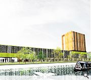 The scheme aims to move away from the 'warehousing' of students in banal developments