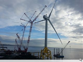 World's largest wind turbine unveiled in Fife