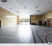 Facilities offered include a new gymnasium