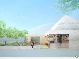 Reiach & Hall win Grandhome community hall design competition