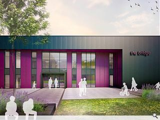 Construction begins at Dumfries learning hub