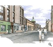 Constitution Street's role as the main commercial artery of Leith would be enhanced