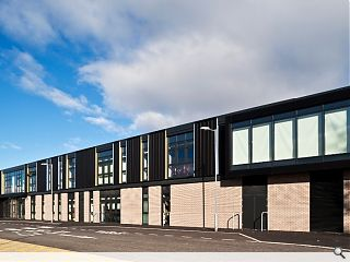 Integrated primary school and special needs campus completes