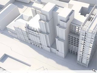 Vacant Clyde-side offices lined up for 77 student flats