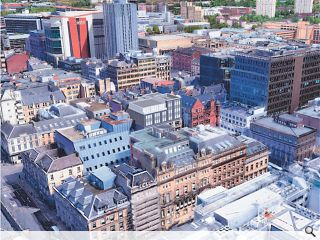 At-risk Glasgow office block earmarked for serviced apartments