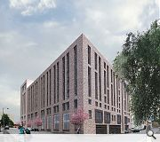 Double height active frontages, including a supermarket, will meet Kyle and Stafford Street