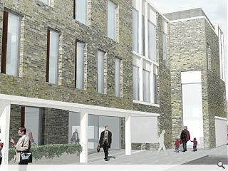 Plans submitted for Gorbals Health Centre