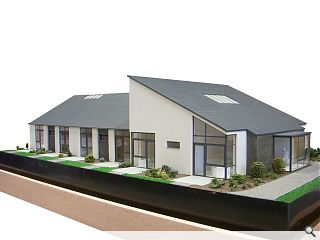 Construction commences on Brodick Care Home