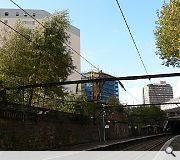The new terminus would be built on a viaduct above the existing High Street Station