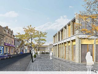 Twin masterplans brought forward for Galashiels and Tweedbank