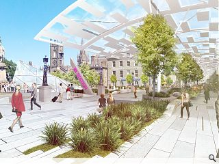 Canopy vision for Aberdeen's Union Street showcased
