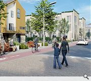 New homes and pedestrian priority zones will transform Wishaw