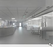 Seven operating theatres will be enhanced as part of the work