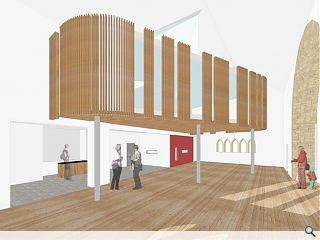 "Archial design ""Aalto-esque"" West Kilbride craft centre"