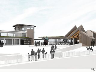 Indicative National Marine Centre plans published