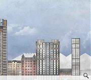 Citihome joins a growing cluster of planned towers along the River Clyde