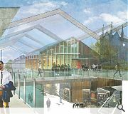 The St Nicholas Centre will benefit from a new winter garden and food court
