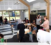 The new nursery supercedes a former facility which could no longer cope with demand