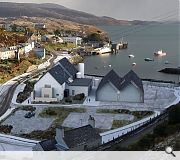 The distillery promises to give a significant economio boost to the island