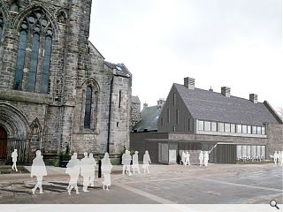 Paisley Abbey Fourth Cloister project goes in for planning