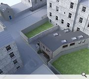 Improvements to the rear mews structure will create a secondary frontage