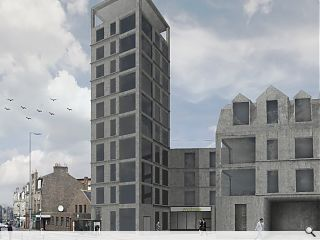RGU student wins civic architecture award for Torry tower