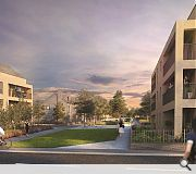 A variety of housing styles will be on offer to prospective occupants