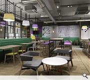 A restaurant and bar will be provided in the ground floor public area