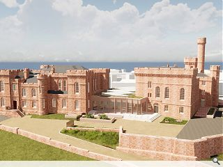 Inverness Castle tourism bid on the home straight