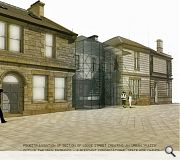 An urban 'piazza' will be created outside the Lodge Street main entrance