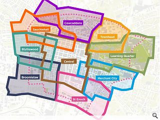 Broomielaw District drop-in event to guide Glasgow's future