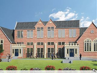 New homes launched at Blairgowrie school conversion