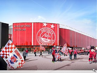 Decision on proposed Aberdeen FC stadium deferred till October