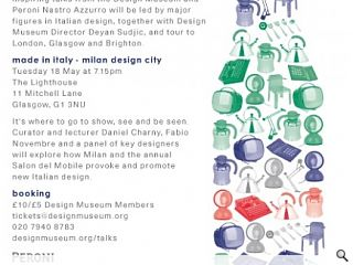 Made in Italy – The Influence of Italian Design