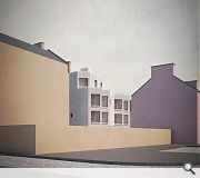 Facades have been carefully modelled to avoid overlooking