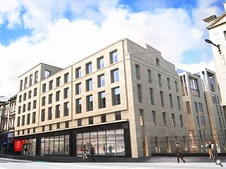 Cowgate hotel complex starts on site