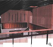 The main hall would be partially subdivided to provide the required accommodation