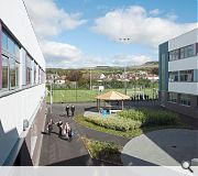 Dumbarton Academy is the first school in Scotland to adopt a pre-cast frame solution