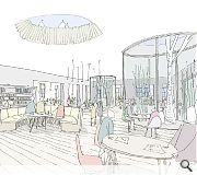 A new build addition will address a public space