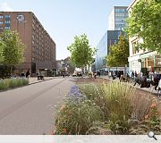 Cambridge Street could be in line for some much-needed greenery