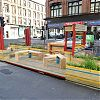 Sauchiehall Street welcomes Glasgow's first 'parklet'