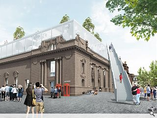 Perth City Hall design concepts go on show