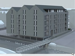 Contractor appointed for £5.7m Galashiels housing project